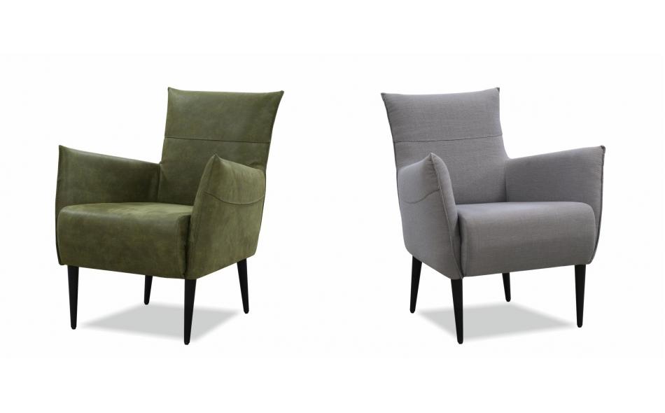 Тапициран фотьойл мека мебел Велга - 304